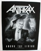 Anthrax - 'Among the Living' Giant Backpatch
